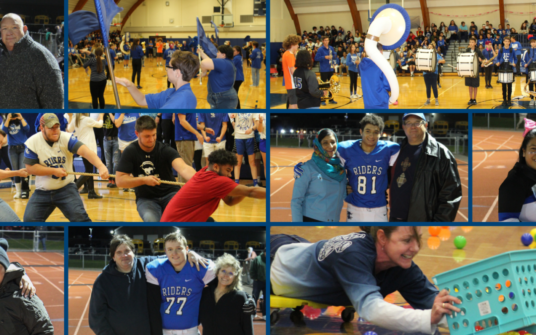 PICTURES: Pep Rally & Homecoming Senior Night