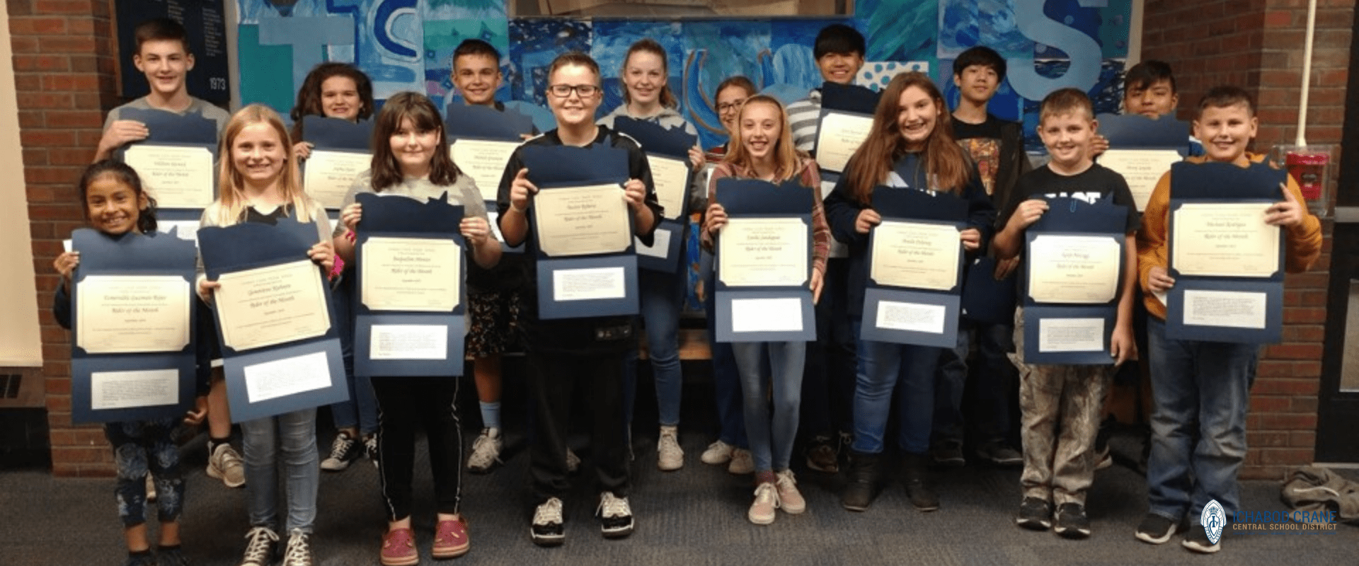 October 2019 Middle School Riders of the Month