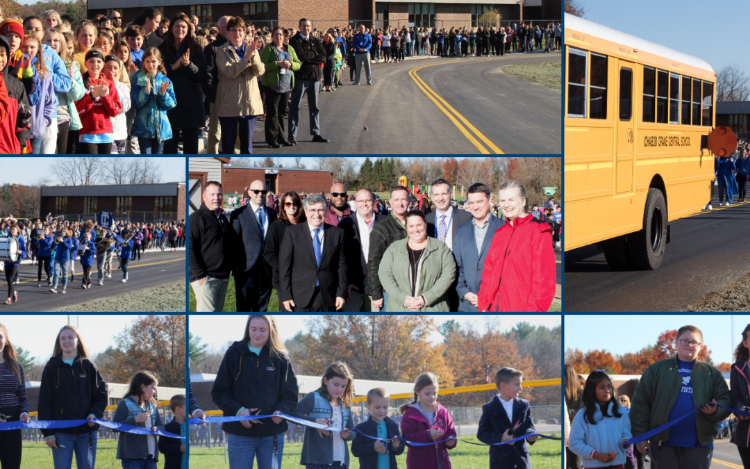 PICTURES: PS/MS Access Road Ribbon-Cutting