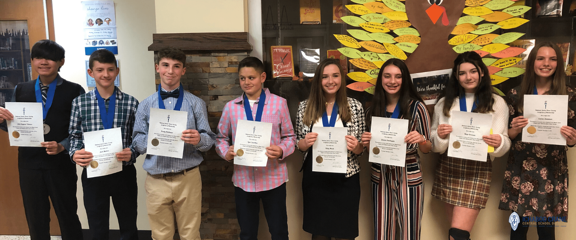 Junior Honor Society Inductees