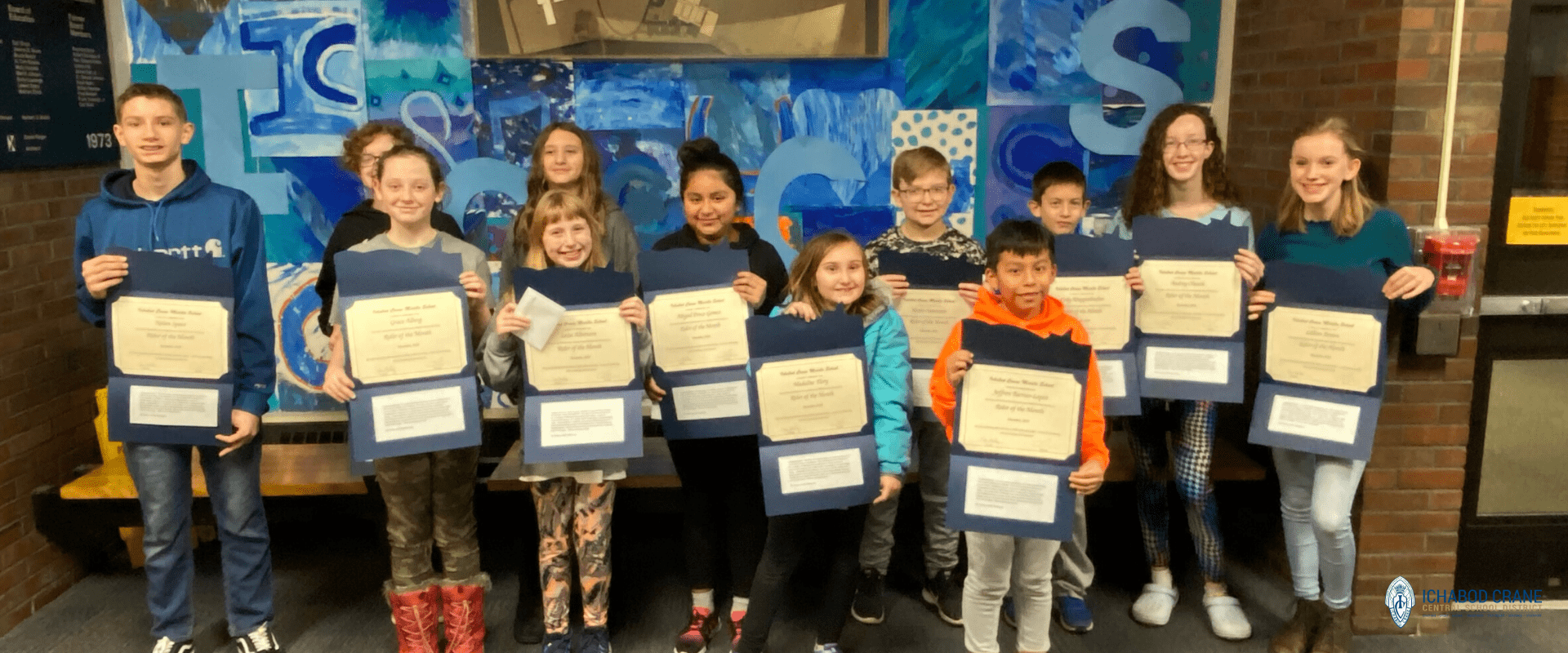 Middle School Riders of the Month, December 2019
