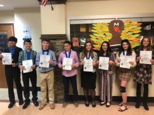 Junior Honor Society Inductees