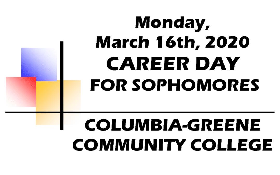 Sophomore Career Day, Mar. 16