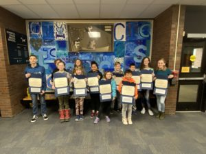 Middle School December 2019 Riders of the Month