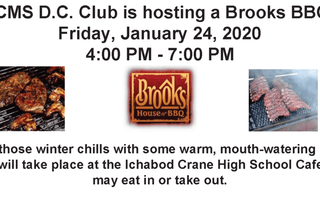 DC Club Brooks BBQ Fundraiser, Jan. 24