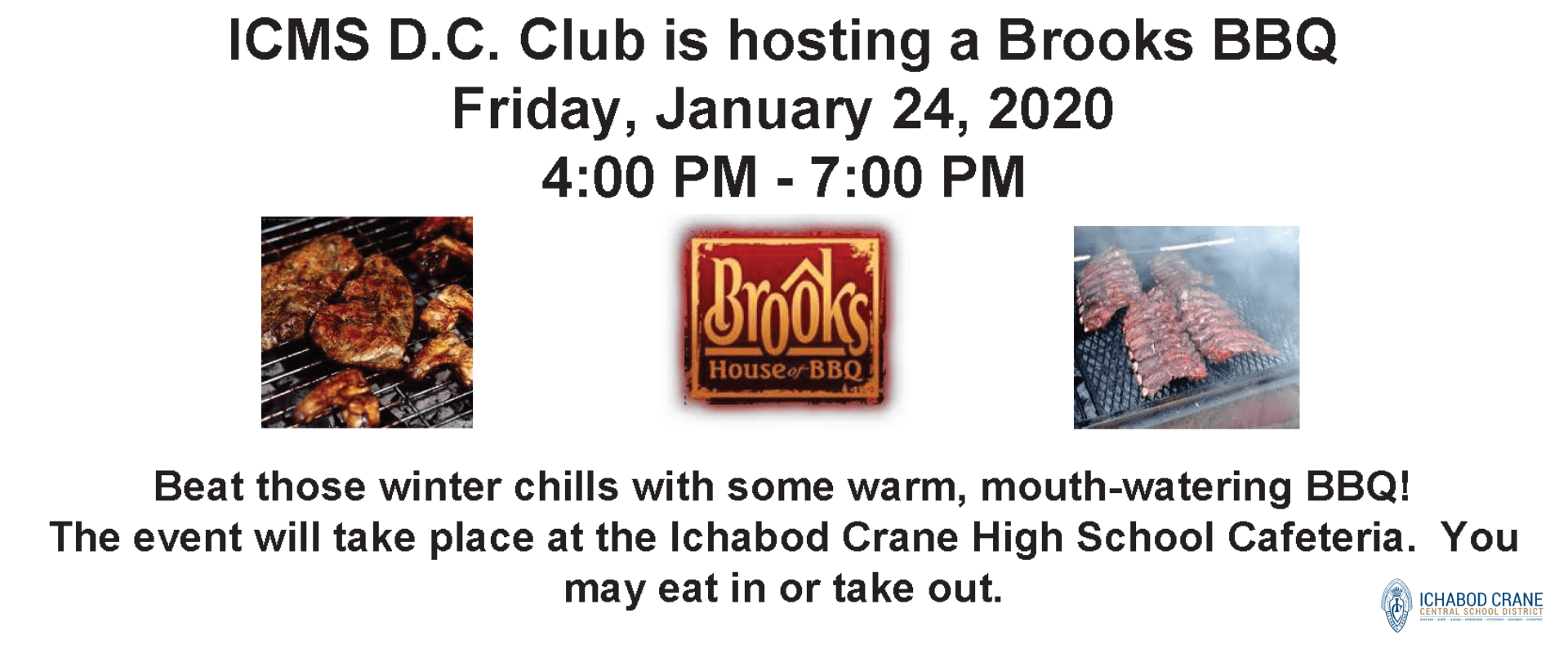DC Club Brooks Barbecue Fundraiser January 24