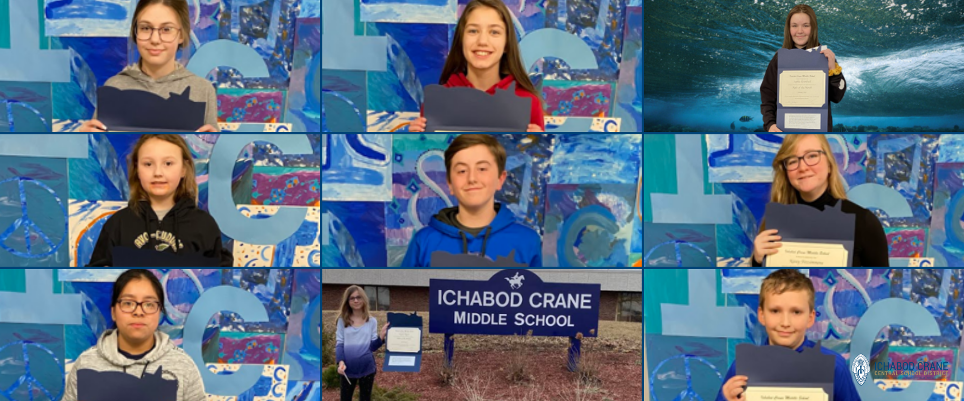 Middle School February 2020 Riders of the Month