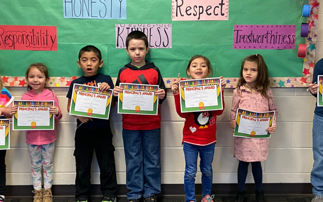 Feb. 2020 Character Trait Students