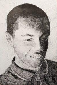 """Disgust"", by Daniel Chen (Grade 10)"