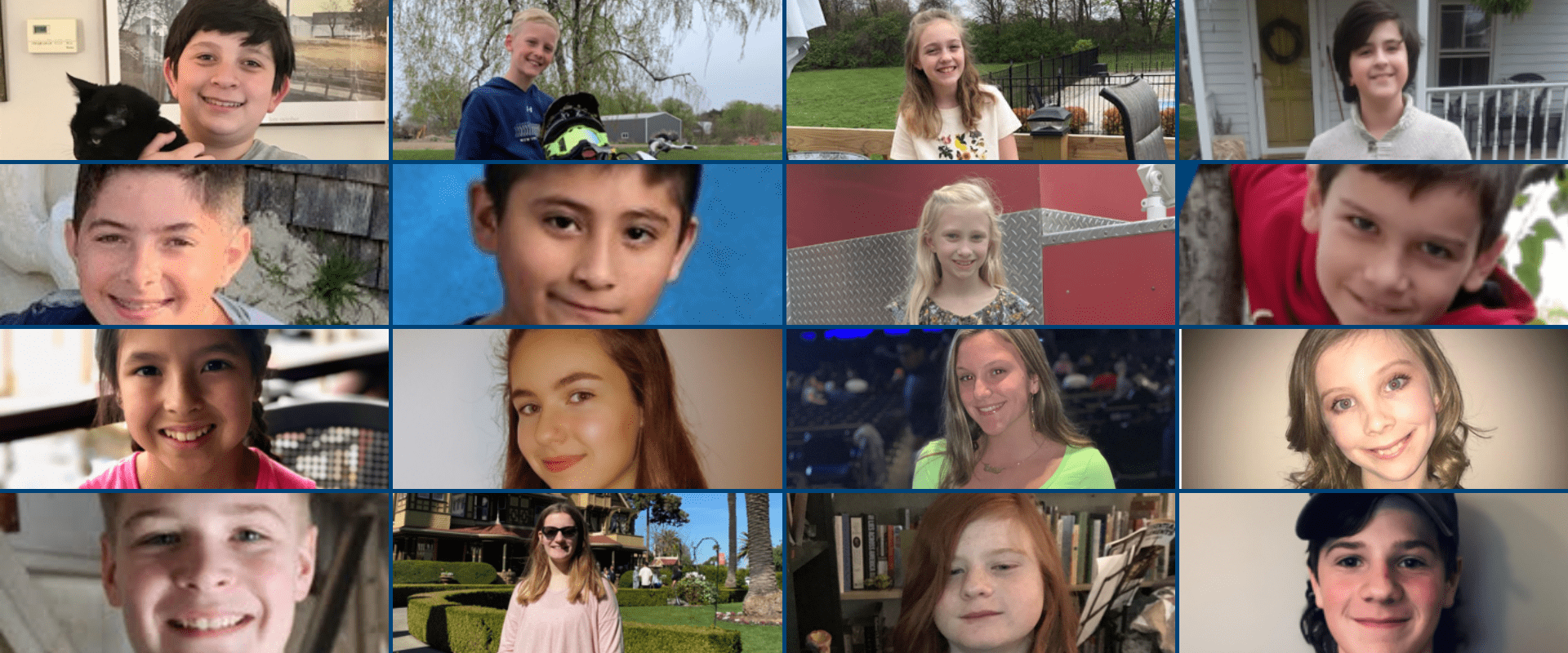 Middle School April Riders of the Month