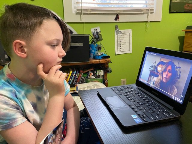 Viewing Remote Learning Lessons