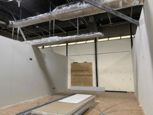 MS Temporary Classroom Interior