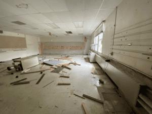 Selective Demolition of HS Art Room