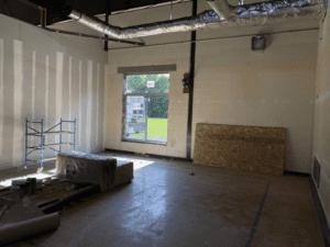 MS Temp. Classroom With Window Cut In