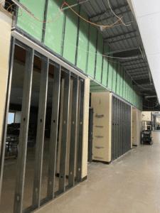 MS Cafeteria Framing