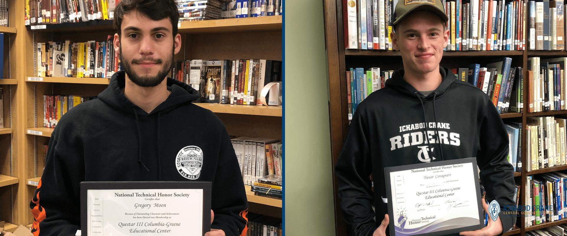 Ichabod High School students win Technical Honor Society awards