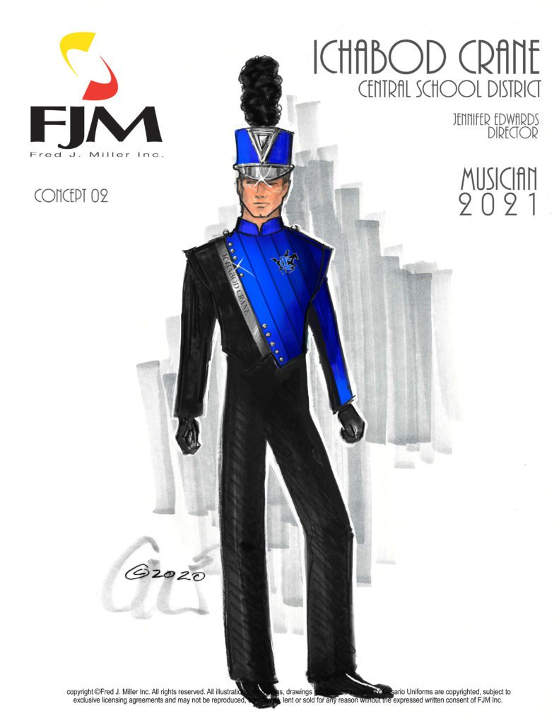 Ichabod Crane HS Marching Band Concept Art
